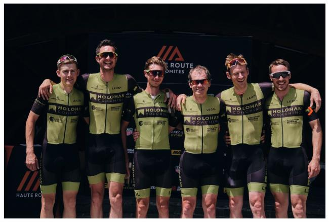 The Holohan Coaching cycle team