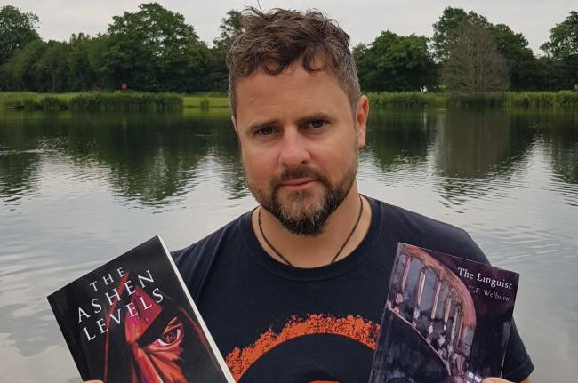 Craig Welburn, with his self published novels