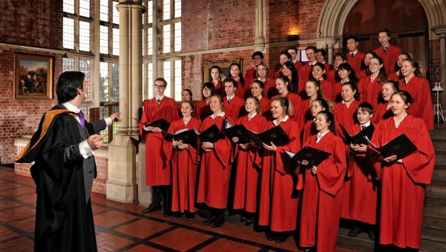 Ellesmere College's Chapel Choir