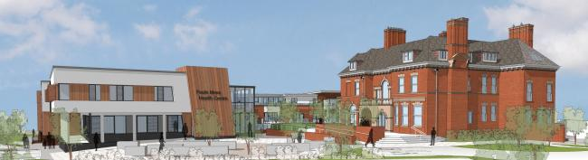 An artist's impression of the new Pauls Moss plans