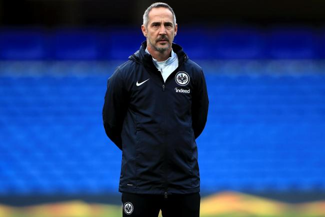 Adi Hutter says expectations have increased at Eintracht Frankfurt