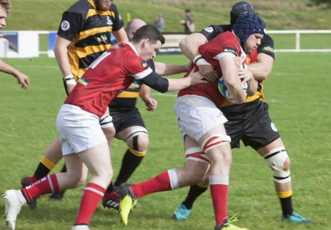 Whitchurch Rugby Club in action previously