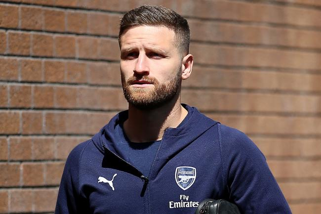 Arsenal defender Shkodran Mustafi has yet to play in the Premier League this season.