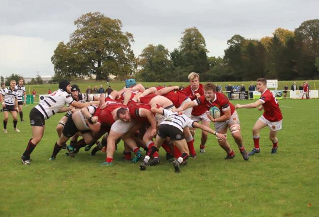 Whitchurch Rugby Club in action a previous week