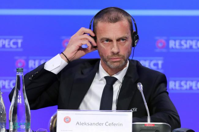 UEFA president Aleksander Ceferin has warned clubs in competitions cancelled prematurely may not be eligible for Europe next season
