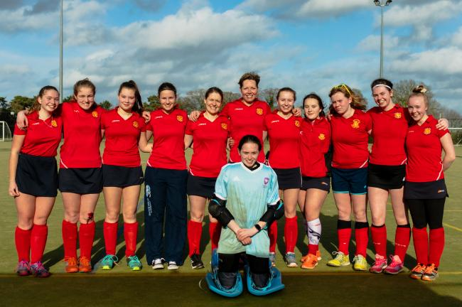 Whitchurch Hockey Ladies first team