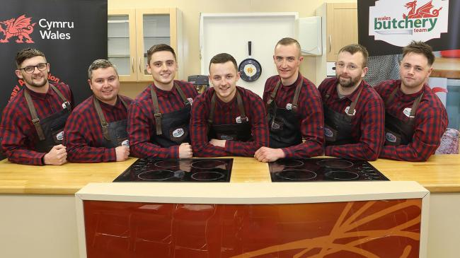 Wales Butchery Team