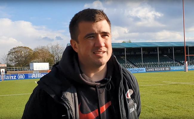 Saracens Women head coach Alex Austerberry