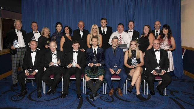 GLASGOW, SCOTLAND - SEPTEMBER 19: The SFA Grassroots Awards 2019 take place at Hampden Park on 19 September, 2019, in Glasgow, Scotland. (Photo by Craig Foy / SNS Group)