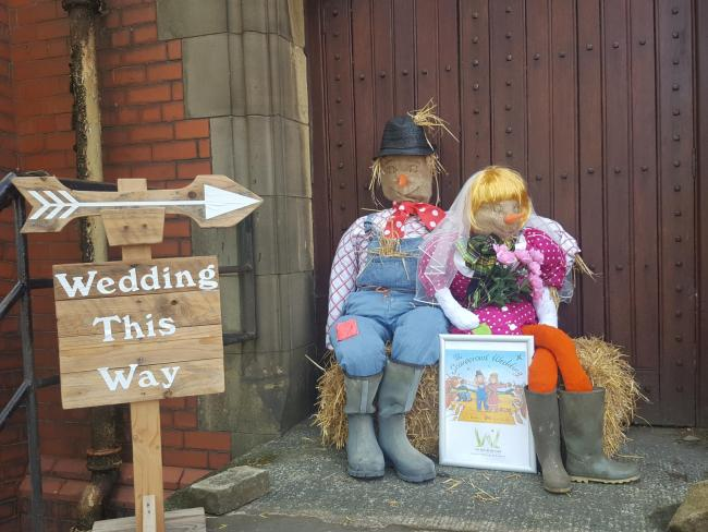 Edgworth and Chapeltown Scarecrow Festival