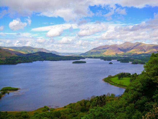 These are the 25 top places across the UK to go for a 'safecation', including Keswick in the Lake District, Cumbria (pictured). Picture: Pixabay