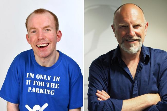 Lost Voice Guy and Simon Evans will appear in Whitchurch