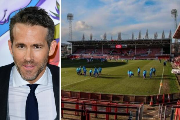 Ryan Reynolds is among two Hollywood stars looking to potentially buy Wrexham AFC