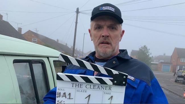 Greg Davies is the Cleaner