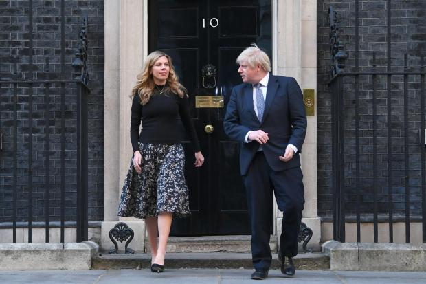 Whitchurch Herald: The Prime Minister and his fiancee Carrie Symonds have faced questions over the funding of their renovations to the 11 Downing Street flat (Victoria Jones/PA)