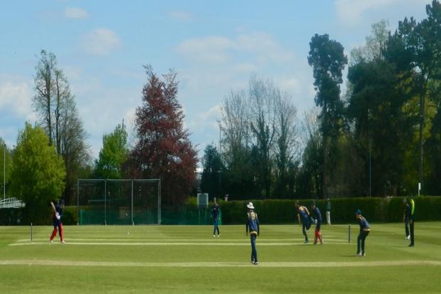 Shropshire in the field against Lancashire at Whitchurch. Picture by Stuart Dunn.