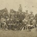 Whitchurch Herald: Officers of the North Shropshire Yeomanry.