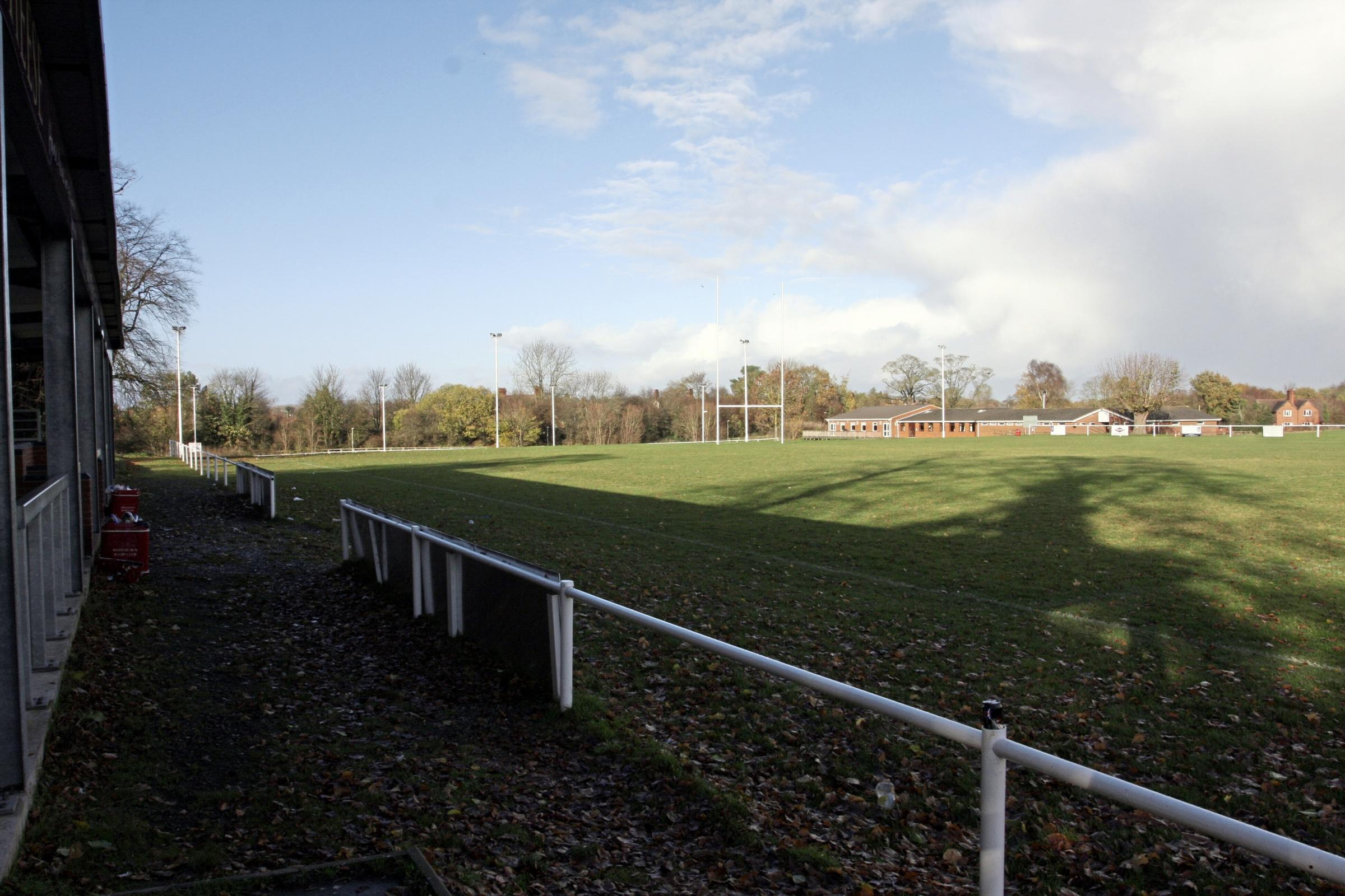 Whitchurch Rugby Club, site of a possible supermarket.HD111110
