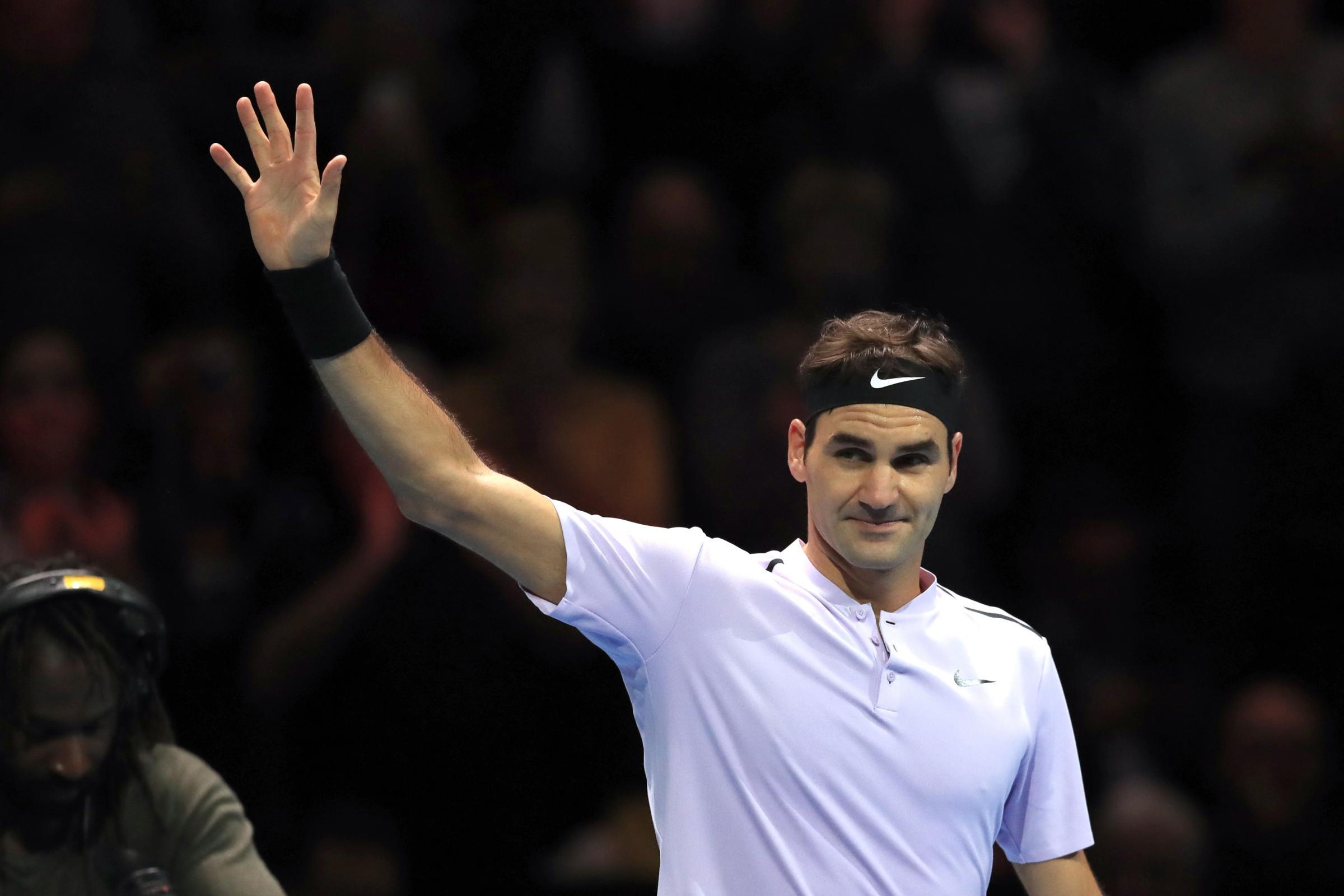 Image result for Roger Federer World's primary at 36