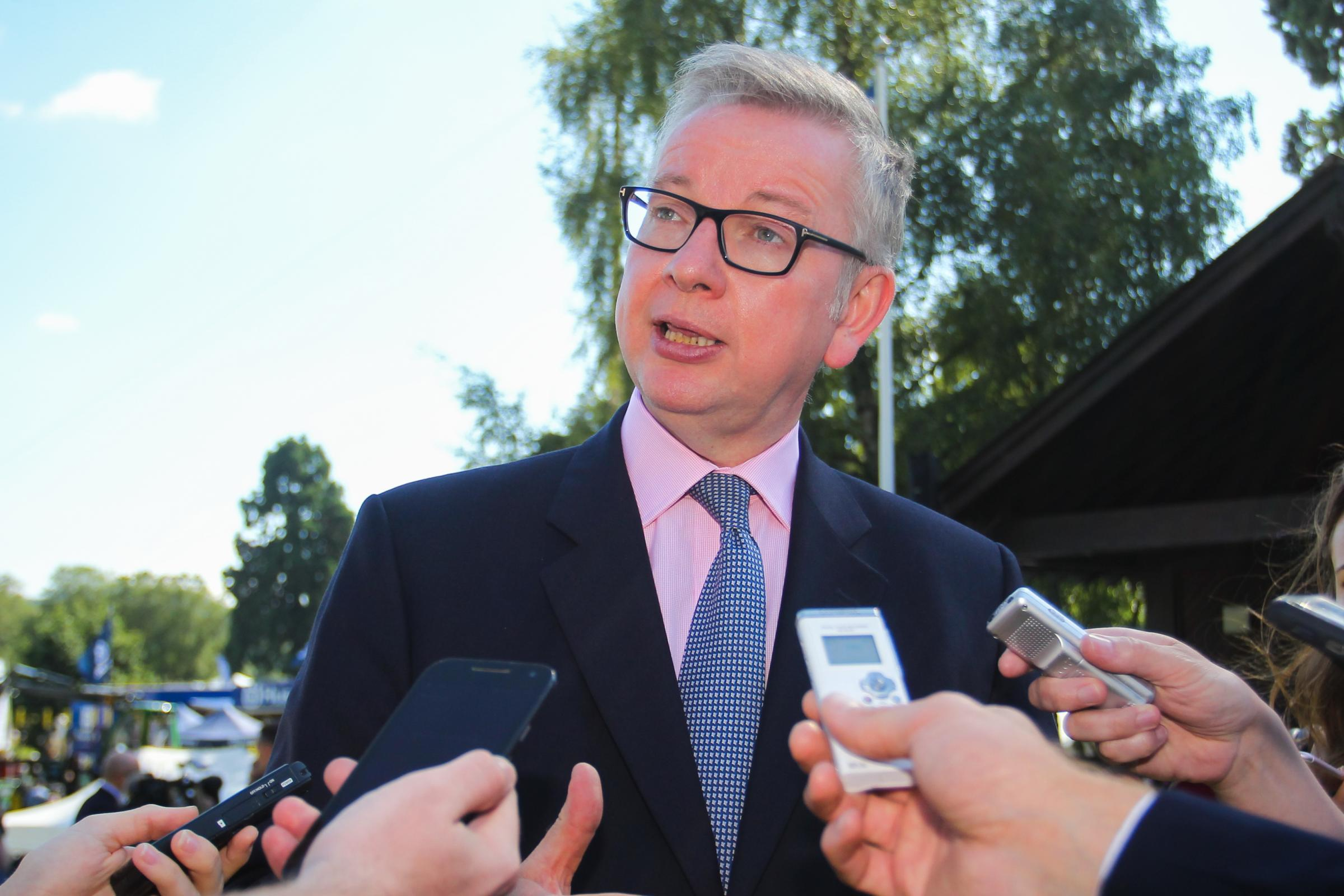 Michael Gove has drafted legislation for post-Brexit farming (Chris Brown)