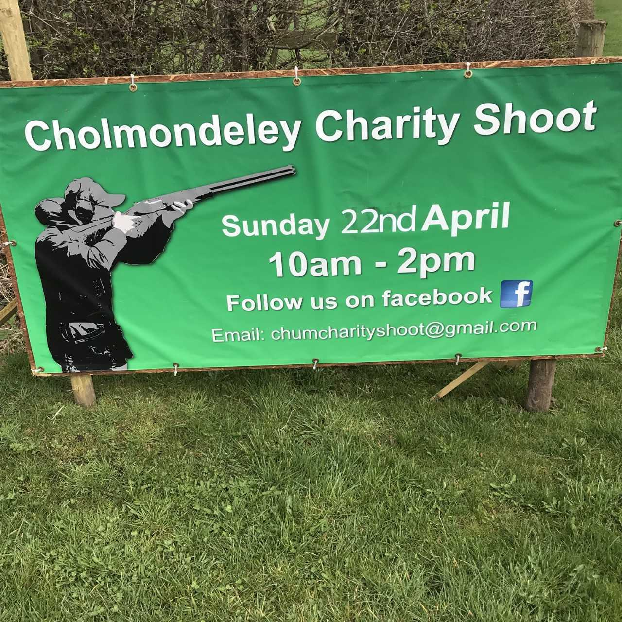 The Cholmondeley shoot will be on April 22