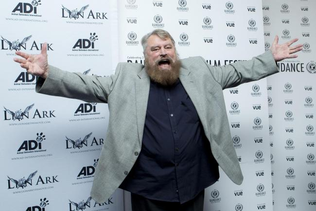 File photo of Brian Blessed gestures at the World Premiere of the documentary, Lion Ark, as part of the Raindance Film Festival, on 01/10/13.  See PA Feature BOOK Blessed. Picture credit should read: Joel Ryan/Invision/AP/PA Photos. WARNING: This picture