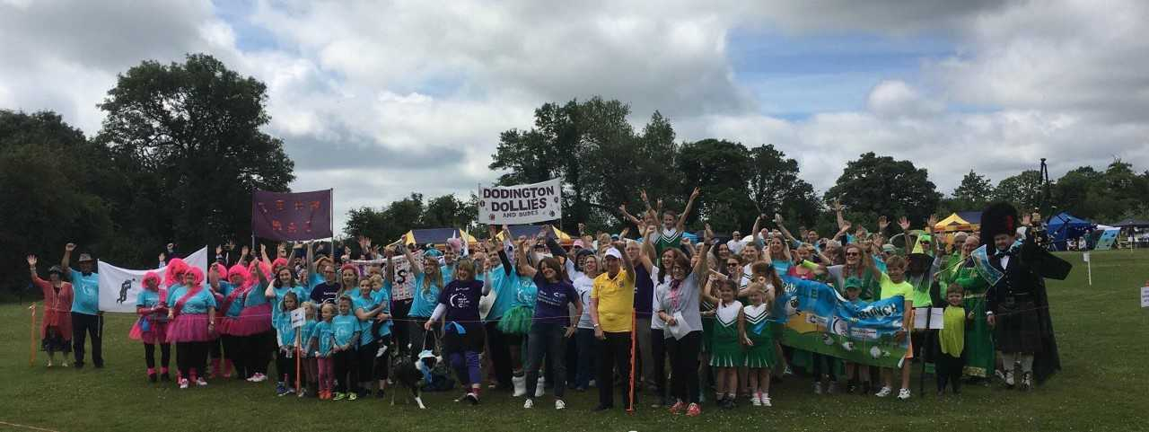 Participants at the 2018 Whitchurch Relay for Life