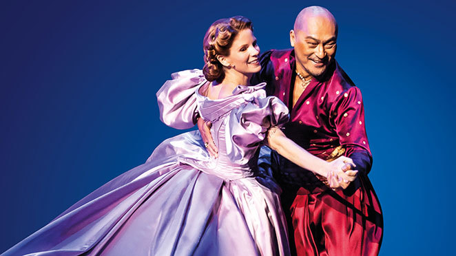 The King and I is being screened live