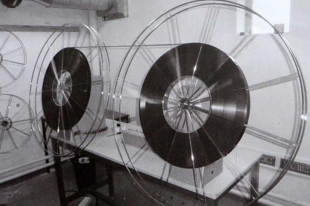 Cinema reels as used at Wem Cinema (picture by Oliver Richardson)
