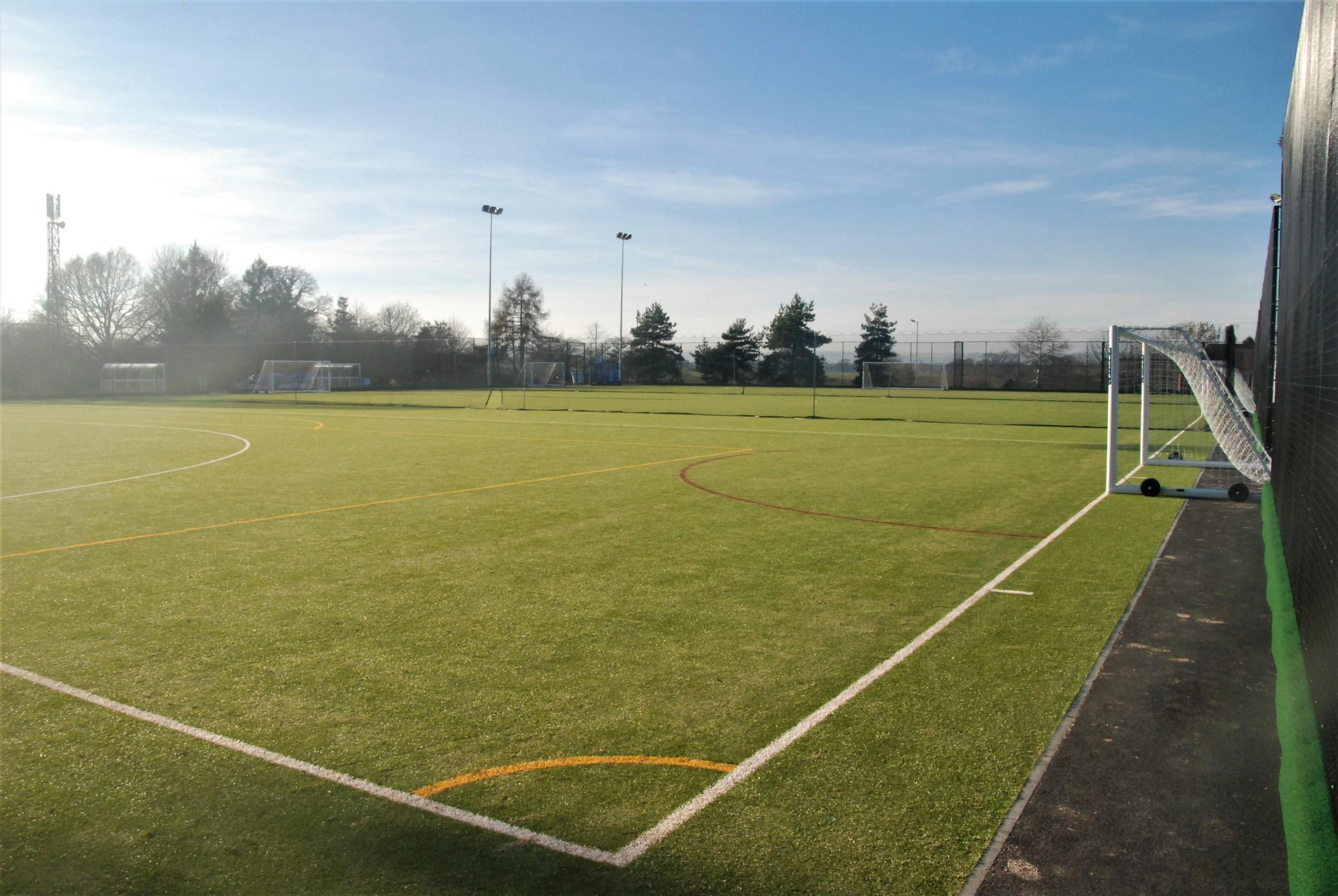 Lakelands Academy all-weather pitch is now open