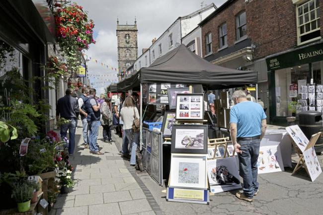 Businesses in Whitchurch will not be charged extra for pavement furniture