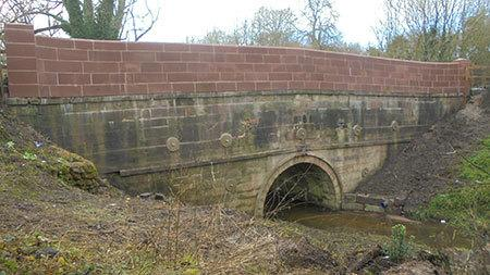 Bradley Bridge following works in 2017. Picture by Cheshire West and Chester Council