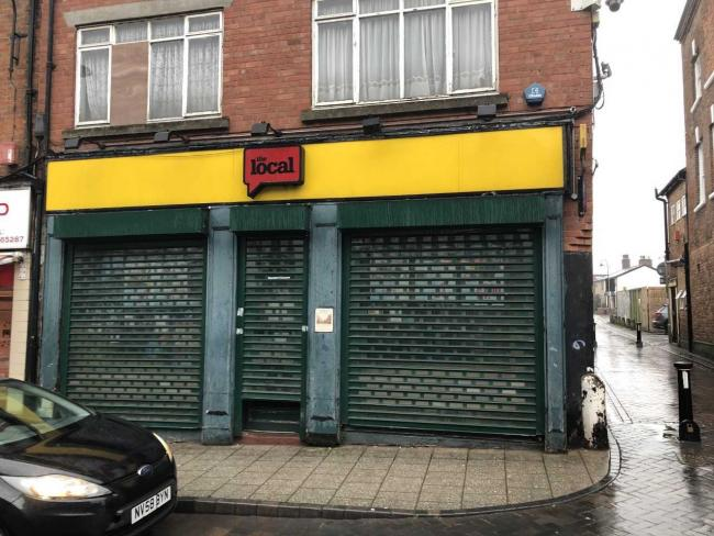 The now closed Local branch, where Mr Clark was found to have broken the law