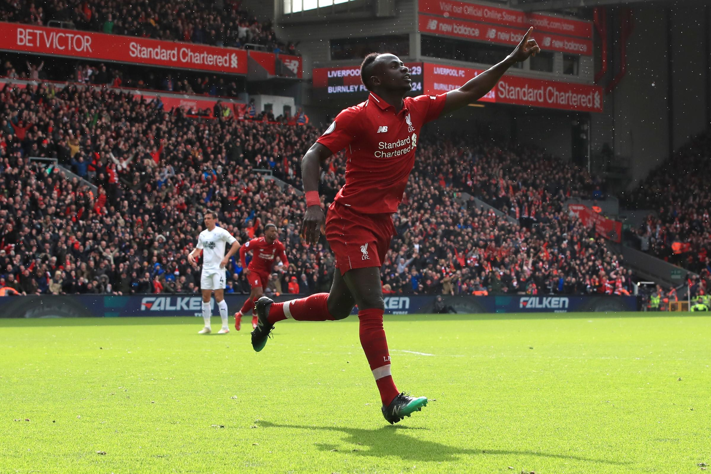 Sadio Mane is Liverpool's in-form goalscorer