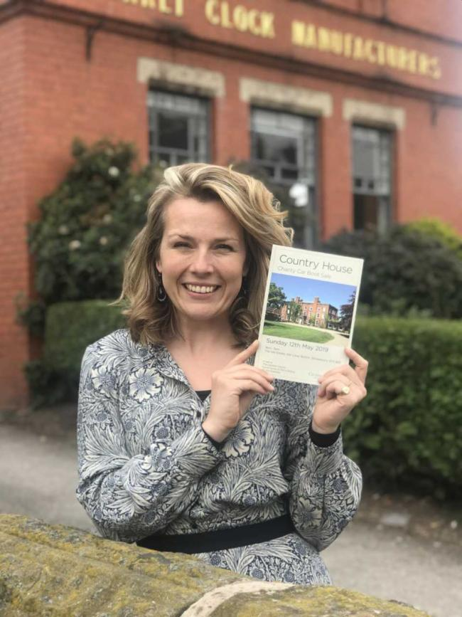 Whitchurch's Christina Trevanion set for Country House Car Boot Sale