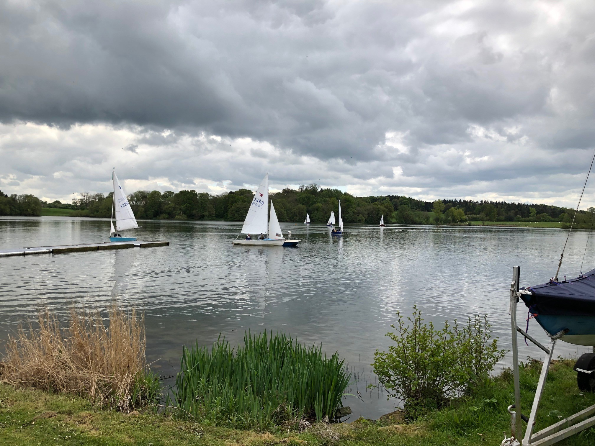 ShropshireSailing Club's open day at Whitemere