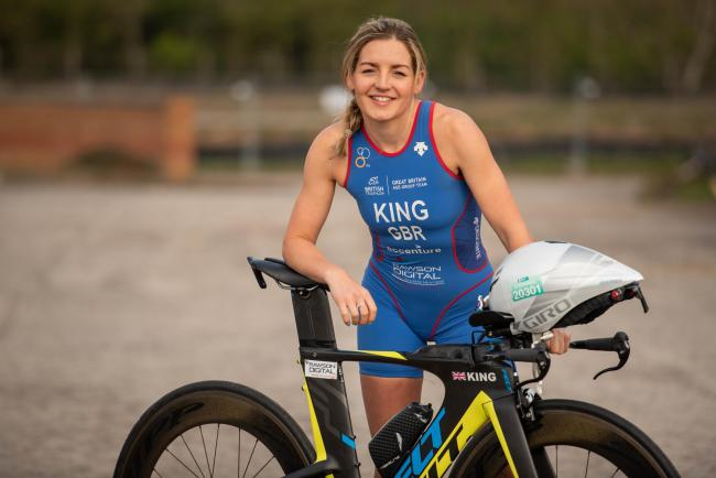 Stephanie King, who grew up in Ellesmere, is aiming for a best ever top 20 finish