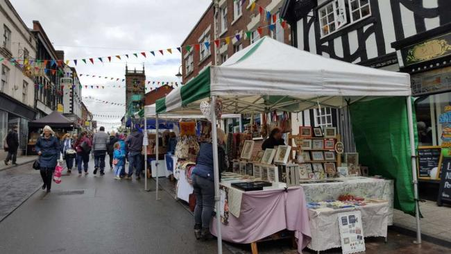 The Whitchurch Food and Drink Festival, where organisers are asking businesses to contribute to a celebratory atmosphere