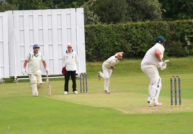 Whitchurch during the first of two Bank Holiday wins. Picture by Ian Stading