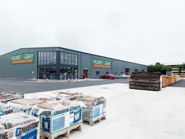 The new Huws Gray building in Whitchurch