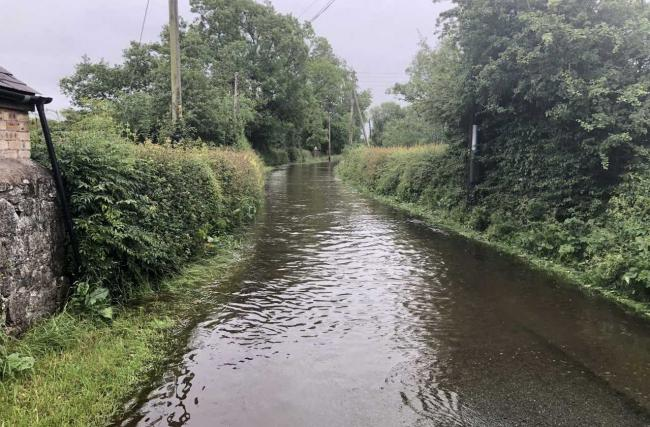 Flooding has affected many roads